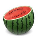 Watermelon cuts icon