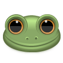 frog, animal icon