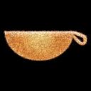 k Basket Embossed icon