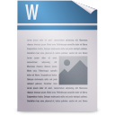wordprocessing, package icon