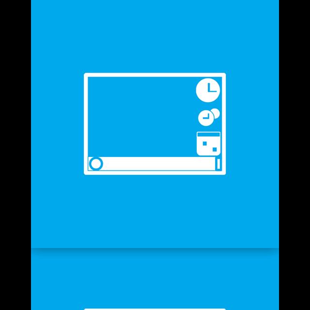 gadget, mirror icon