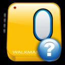 walkman, help icon
