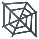 spider web, spider, web, cobweb icon