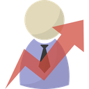 person, productivity, motivation, user, business, worker icon