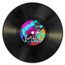vinyl, multi icon