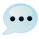 dot, comment icon
