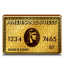 express, american, gold icon