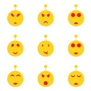 emotion icon sets preview