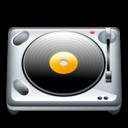 Dj, Turnable icon