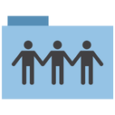 appicns, share, folder icon