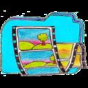Osd folder b videos icon