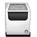 recycle, bin, empty, blank icon