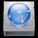 hdd,network,harddisk icon