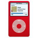 ipod,video,red icon