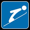 , Jumping, Ski icon