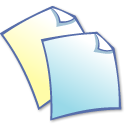 duplicate, copy, documents, files, papers, note icon