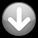 down, descending, download, descend, decrease, fall icon