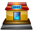 roadside shop icon