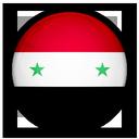 of, flag, syria icon