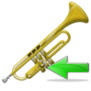 Back, Trumpet icon