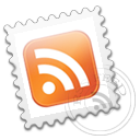 feed, grey, stamp, postage, rss, subscribe icon