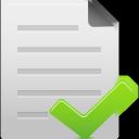 file, complete icon