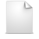 generic, document, white icon