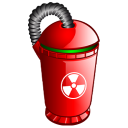 blank, empty, bin, recycle icon