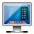 Display, Glossy, Mac, Screen icon