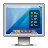 glossy, display, mac, screen icon