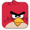 Angry, Birds, Red icon