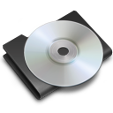 black, cd, disk, disc, save icon