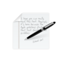 write,note,writing icon