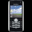 BlackBerry Pearl black icon