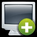 crt, add, computer, create, my icon