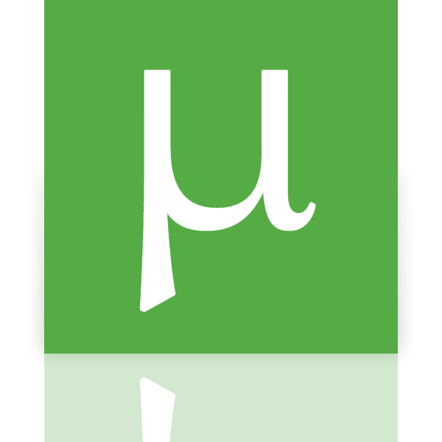 utorrent, mirror icon