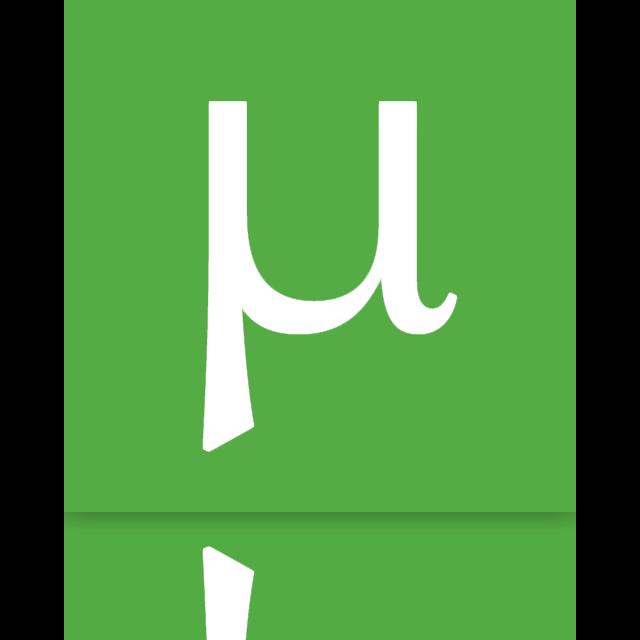 utorrent, mirror icon