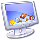 screen, display, computer, monitor icon