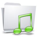Folders Muisc icon