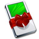 ipod,gift,mp3player icon