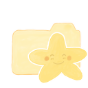 Folder Vanilla Starry Happy icon