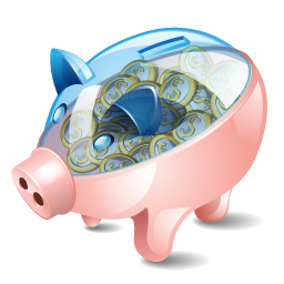 piggy, bank icon