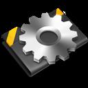 Black, Developer icon