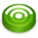 rss,green,subscribe icon
