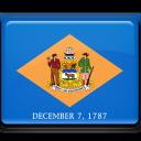 flag, delaware icon