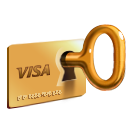 Payment, Secure, Unlock icon