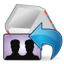 Mail, Replyall icon