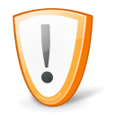 warning, guard, shield, security, exclamation, error, protect, alert, wrong icon
