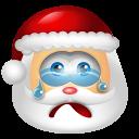 Santa Claus Cry icon