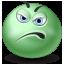 Displeased, Emot icon